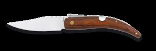Pocket knife with bolster steel