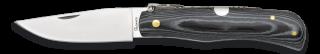 Couteau pliant mikarta noir Albainox. Lame 8 cm