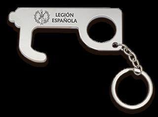 Llavero empujador Legión Española