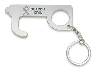 Llavero empujador Guardia Civil