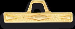 Barra Comienzo Dorada Distintivo Montaña