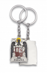 Spain Eagle silvery key-ring