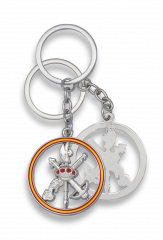 Plated-colour Spanish legion key-ring