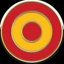 pin España diana 1,8 cm