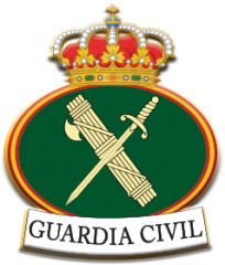Pin 2.2x1.9 cm. Guardia Civil