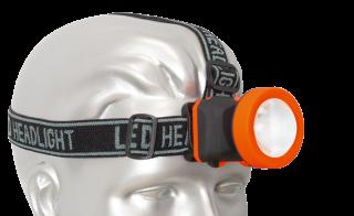 Headlamp circular