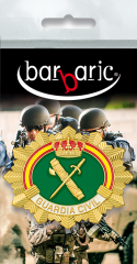 Nameplate. Guardia Civil. Horizontal
