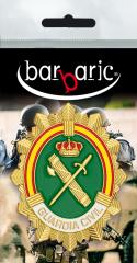 Nameplate. Guardia Civil. Vertical