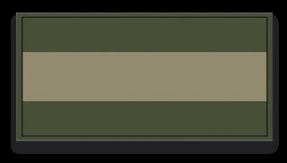 parche España verde 6x3 cm con velcro