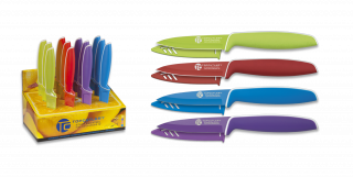 Kitchen knife. TOP CUTLERY  9 cm. 4 colours