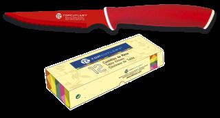 cuchillo de mesa Top Cutlery rojo. punta
