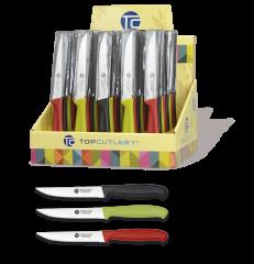 Expositor 48 pz cuchillos mesa 11.5 cm