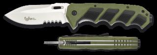 Navaja Albainox Asistida FOS Verde. 9.4
