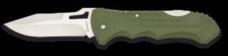 Navaja ALBAINOX ABS Verde Clip. hoja: 8