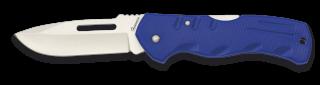 Navaja ALBAINOX ABS con clip Azul. H:7.7