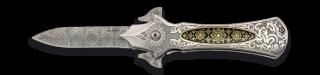 Navaja Albainox Asistida con chapa. 8cm