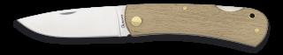 navaja albainox madera natural. h: 7.5