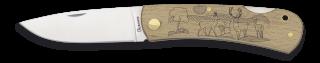 Pocket knife ALBAINOX wood Deer