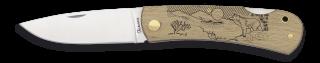 Pocket knife ALBAINOX wood Wolf
