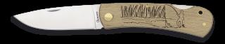 Pocket knife ALBAINOX wood FISHING