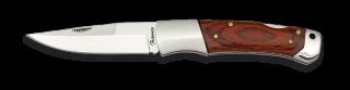 Couteau pliant Albainox Stamina marron. Lame 8.2 m