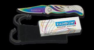 RAINBOW wings penknife. Blade 6.8 cm