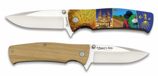 Pocket knife 3D SAINT JAMES 8.8 cm