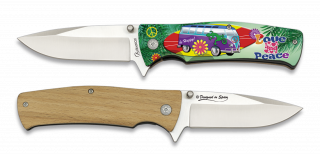 Pocket knife ALBAINOX LOVE & PEACE 3D 8.8 cm