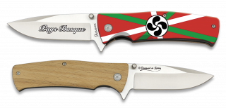 Pocket knife ALBAINOX PAYS BASQUE 3D 8.8 cm
