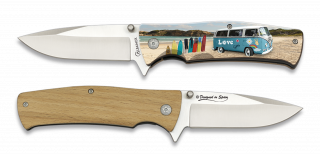 Pocket knife ALBAINOX LOVE SURF 3D 8.8 cm
