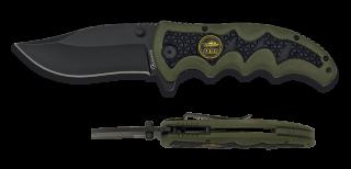 Albainox green/black FOS penknife.Bl 9.5