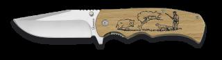 Pocket knife ALBAINOX natural wood 8.8 cm