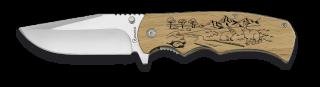 Pocket knife ALBAINOX wood 8.8 cm