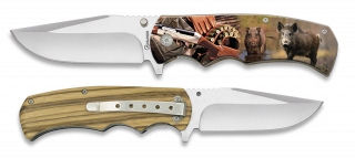 Pocket knife ALBAINOX WILD BOAR 3D 8.8 cm