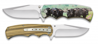 Pocket knife ALBAINOX BULLS 3D 8.8 cm