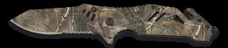 Navaja Albainox camo LEAF. hoja 8.7 cm