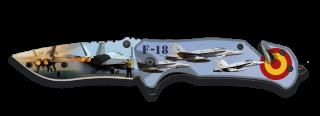 Navaja Albainox impresión 3D Avión. 8.2