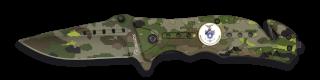 Navaja Albainox FOS. Camo Verde. H: 8.6