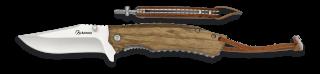 Pocket knife ALBAINOX zebra wood 7.9 cm