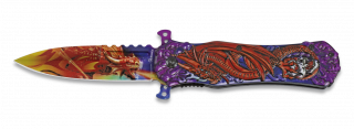 Pocket knife ALBAINOX 3D Dragon FOS