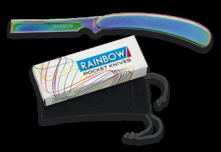 Pocket knife RAINBOW razor