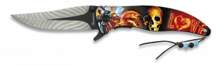 Navajas fantasia 3D Asistidas Albainox