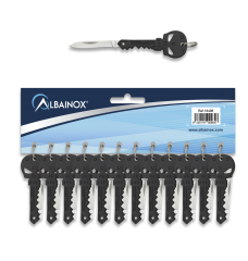 Pocket knife Albainox SKULL blister12pcs