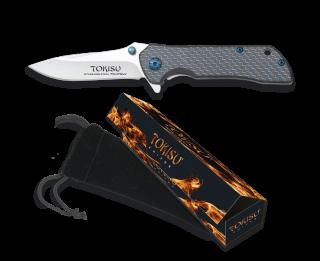 TOKISU pocket knife. Carbon fiber. B 7.2