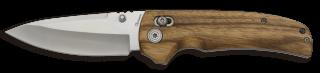 Navaja Albainox madera cebra h: 8.9 cm