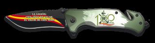 Couteau pliant Albainox FOS. Légion 100 ans