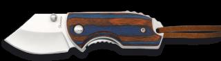 navaja mini con bloqueo roja/azul. h:4.5