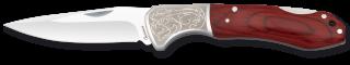 Navaja Albainox Madera Roja. Hoja: 8.5