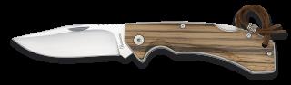 Albainox zebra wood penknife. Blade 9