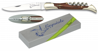 Pocket knife Laguiole with corkscrew